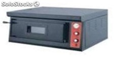 Horno de pizza rustico simple de 6 pizzas electrico 92X71X43 cm industrial