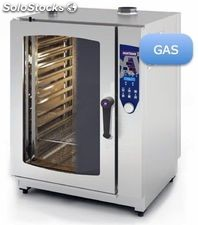 Horno gas 11 gn 1/1 programable inoxtrend