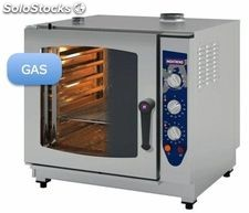 Horno gas 7 gn 1/1 analogico inoxtrend