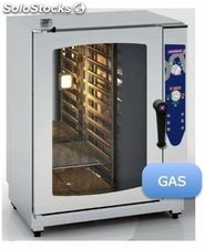 Horno gas 7 gn 1/1 electronico inoxtrend