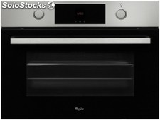 Horno indepen.compacto whirlpool akp 809/ix cla.a,inox,45CM