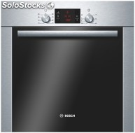 Horno indepen.multifuncion bosch HBA22R251E inox,rail 1 nivel