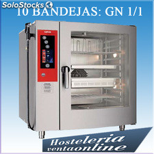 Horno mixto a gas sc-10G+h/10 Salva Master Chef