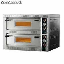 Horno pizza PL-6+6 230-400/50-60/3N