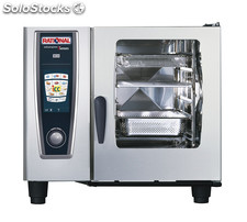 Horno Rational Combi Master Plus - Modelo 61 a gas (6 gn 1/1)