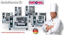 Horno rational eléctrico self cooking center 5 senses mod. 202
