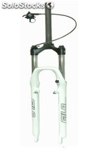 "Horquilla suspension rst"" - gila de 28.6 mm blanca"""