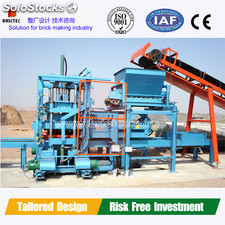 Hot-sale QFT4-15 concrete hollow block making machine price