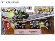 Hot Wheels. Set mini Monster Jam
