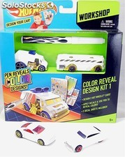 Hot Wheels. Workshop Kit de diseño