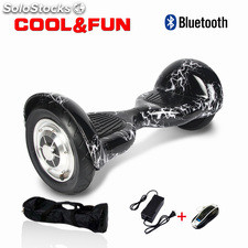 "Hoverboard 10"" Patinete Eléctrico Bluetooth Scooter Auto equilibrio"