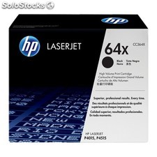 HP - 2 x CC364X Laser cartridge 24000páginas Negro