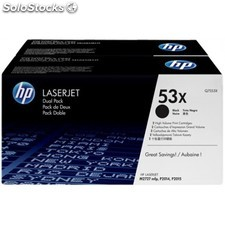 HP - 2 x Q7553XD Laser cartridge 7000páginas Negro