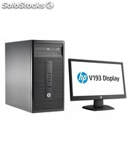 "Hp 280G1 mt PDC3250 2GB 500GB Windows 7 pro + Ecran 20"" 1 Yr Wty"