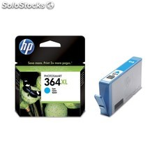 HP - 364XL Cyan Ink Cartridge Cian cartucho de tinta