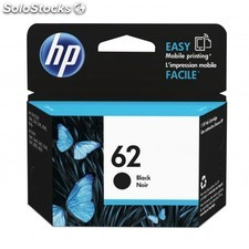 HP - 62 Black Ink Cartridge 4ml 200páginas Negro cartucho de tinta