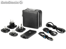 Hp 65w smart travel ac adapter interior 65w negro adaptador e inversor de