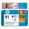 Hp 91 photo black+light grey printhead