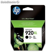 HP - 920XL Black Negro cartucho de tinta