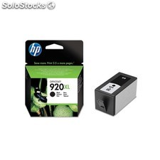 HP - 920XL Black Officejet Ink Cartridge Negro cartucho de tinta