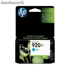 HP - 920XL Cyan Officejet Ink Cartridge Cian cartucho de tinta