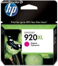 Hp 920xl magenta cartucho de tinta original cd973ae