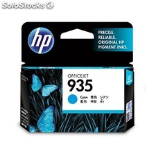 HP - 935 Cyan Original Ink Cartridge Cian cartucho de tinta - 13332416