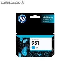 HP - 951 Cyan Officejet Ink Cartridge Cian cartucho de tinta