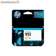 HP - 951 Yellow Officejet Ink Cartridge Amarillo cartucho de tinta