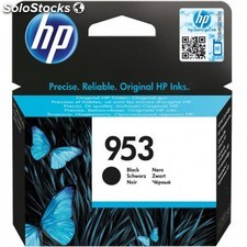 HP - 953 Black Original Ink Cartridge 23.5ml 1000páginas Negro cartucho de tinta