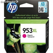 HP - 953XL Magenta Original Ink Cartridge 20.5ml 1600páginas Magenta cartucho de