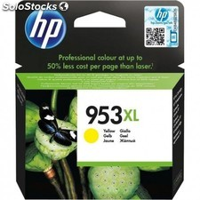 HP - 953XL Yellow Original Ink Cartridge 20ml 1600páginas Amarillo cartucho de
