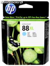 Hp c 9391 ae Cartucho cian No. 88 xl