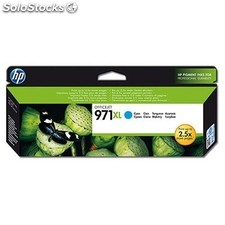 Hp cartucho cian 971XL Offijet Pro X451´476´551