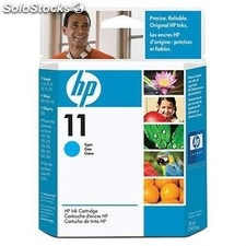 Hp cartucho cian Nº11 28ML business