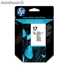 HP - Cartucho de tinta original 17 Tri-color