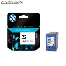 HP - Cartucho de tinta original 22 Tri-color