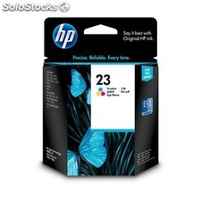 HP - Cartucho de tinta original 23 Tri-color