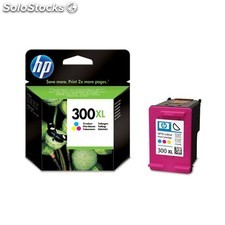 HP - Cartucho de tinta original 300XL de alta capacidad Tri-color