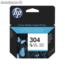 HP - Cartucho de tinta Original 304 tricolor