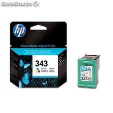 HP - Cartucho de tinta original 343 Tri-color