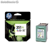HP - Cartucho de tinta original 351XL de alta capacidad Tri-color