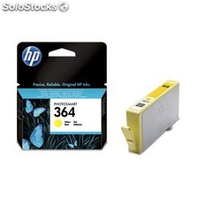 HP - Cartucho de tinta original 364 amarillo