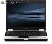 Hp notebook 2530P, core 2 duo SL9300, disco 120GB, memoria 2GB, tela 12.1'', dvd