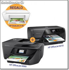 Hp officejet 6960+hp officejet 8210 con regalo de hp deskjet 2130