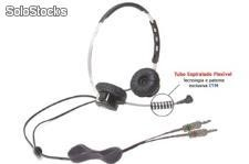 Hp-pc- Duplo Auricular - headset para voip c/ pino p-2 - para uso profissional