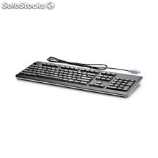 HP - PS/2 Keyboard PS/2 Negro teclado