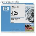 Hp Q5942XD, cartucho, negro, laser, laserjet 4250/4350, 10 - 32,5 °c, 10 -