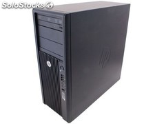 Hp Z210 Workstation Xeon E3-1240 Quad Core 3,3Ghz. 8Gb 240Gb ssd Nvidia Quadro