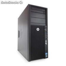 HP Z420 Workstation Xeon Six Core E5-1650 3.2 Ghz . 12 Gb 1 Tb Sata Nvidia Quad